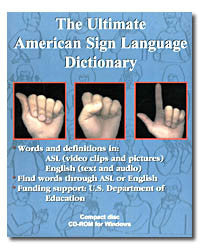 Ultimate American Sign Language Dictionary CD-ROM