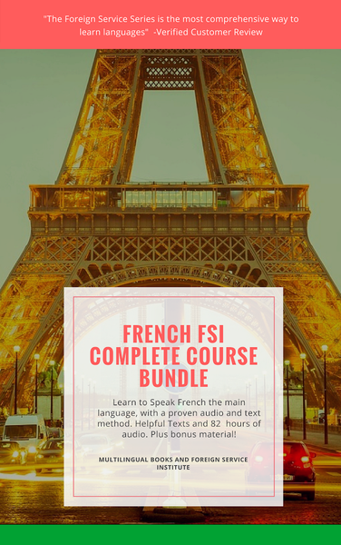 Foreign Service Method French Basic Course, All 4 Levels Books Only