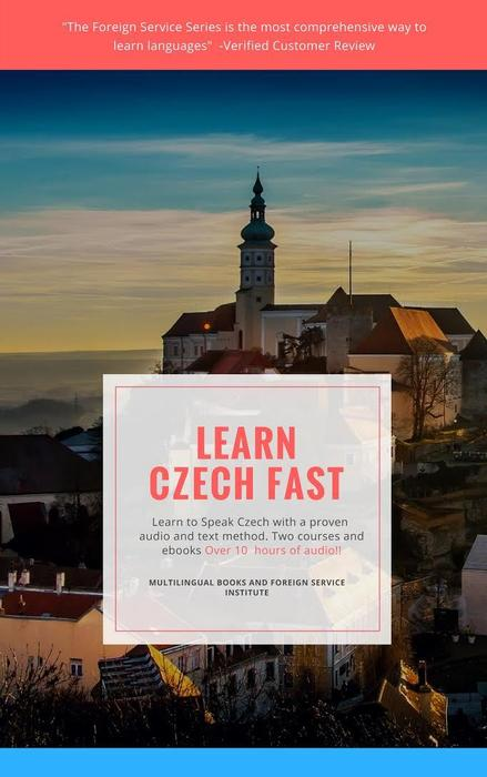 Foreign Service Learn Czech Book and CD