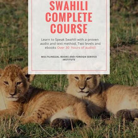 Learn Swahili, Book and CD Foreign service course