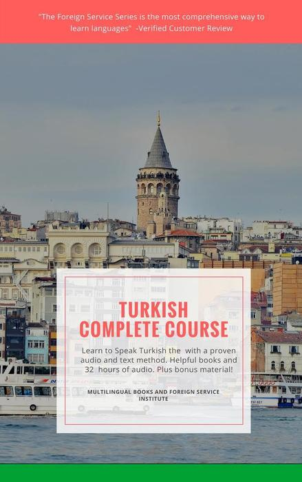 Learn Turkish Basic Course Foreign Service Download or Flash Drive