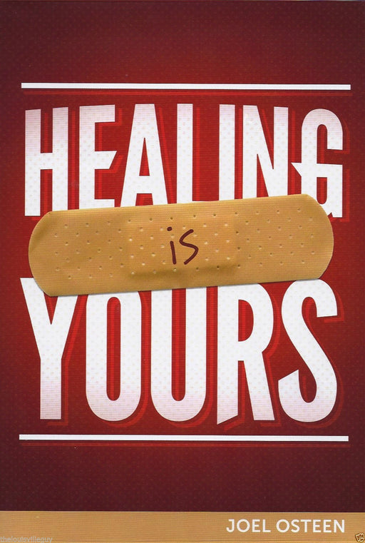 "Joel Osteen ""Healing Is Yours!"" CD & DVD Series & ""Healed of Cancer"" book"