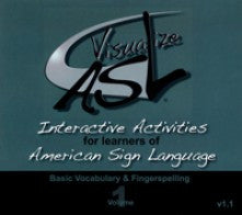 Visualize ASL, Volume 1: Basic Vocabulary and Fingerspelling