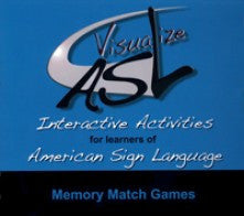 Visualize ASL, Volume 2: Memory Match Game