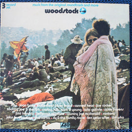Woodstock 3 Lp Used Record set Very Good Plus or Better