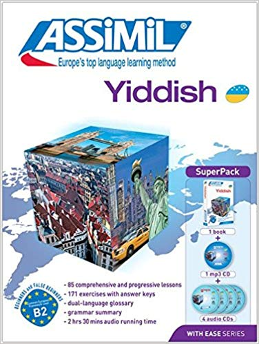 Assimil Super Pack: Yiddish with Ease - Book Cd's and Mp3's
