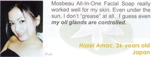 All-In-One Facial Soap Testimonial by Hazel Amac for Mosbeau and KutiSkin