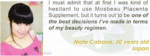 Advanced Food Supplement Testimonial by Mafe Cabana for Mosbeau and KutiSkin
