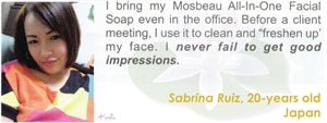 All-In-One Facial Soap Testimonial by Kei Sabrina Ruiz for Mosbeau and KutiSkin