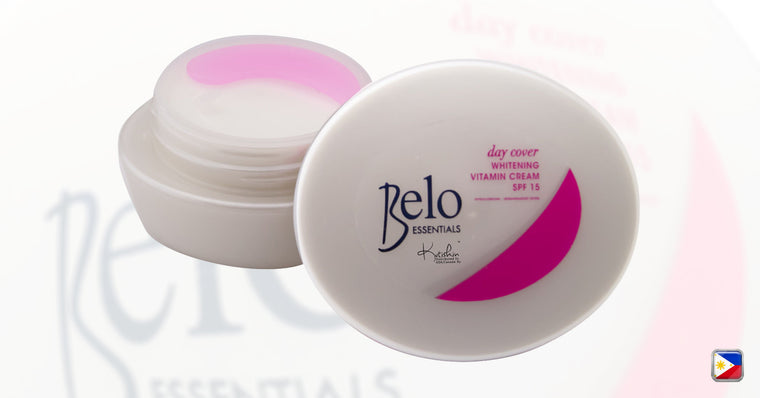 KutiSkin's Belo Essentials Day Cover Whitening Vitamin Cream SPF15 Jar HALAL