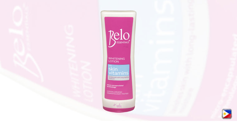 Belo Essentials * Whitening Lotion with Skin Vitamins - HALAL