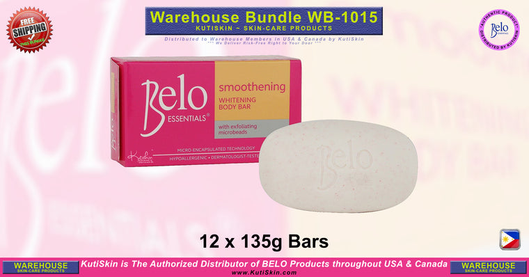 KutiSkin - WB1015 - Belo Essentials Smoothening Body Soap Bundle - HALAL