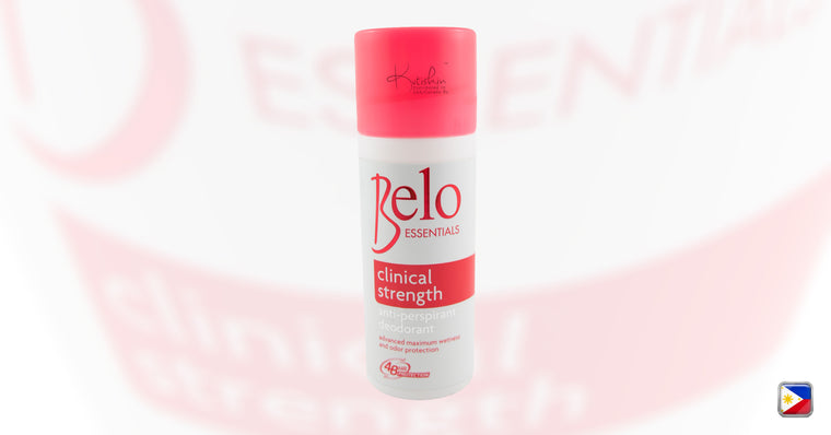 KutiSkin - Belo Essentials Whitening Anti-Perspirant Deodorant Roll-On (Clinical Strength) HALAL