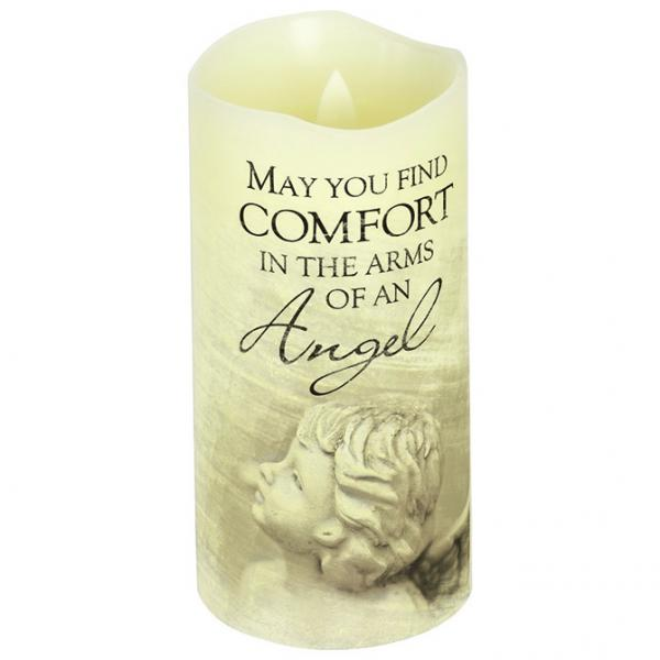 "Premier Candle - ""Arms of an Angel"" - Bloom'n Things (3240456814673)"