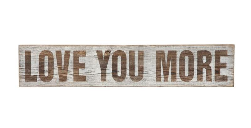 """Love you More""  Wall Decor - Bloom'n Things"