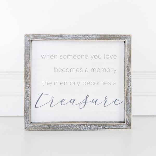 When someone you love..... Wooden Sign - Bloom'n Things
