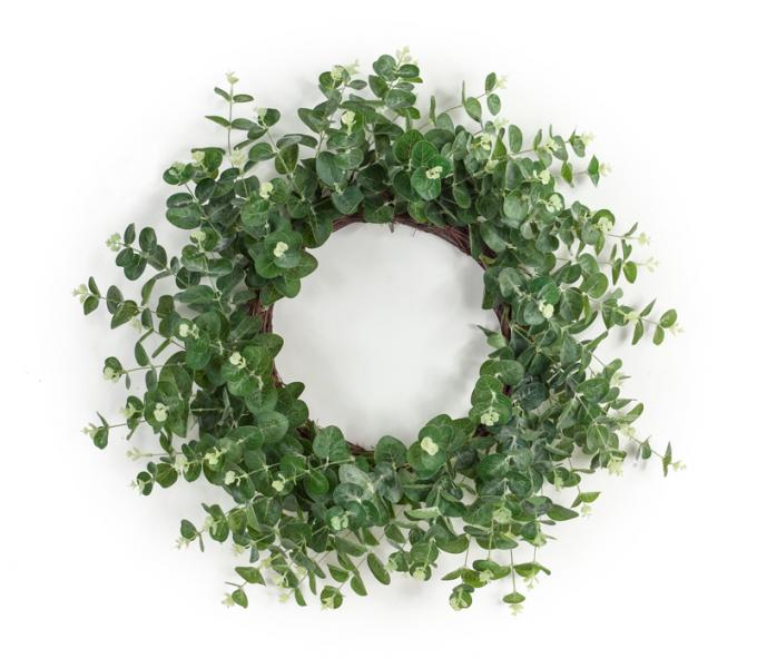"Eucalyptus Wreath - 28""D - Bloom'n Things, LLC"