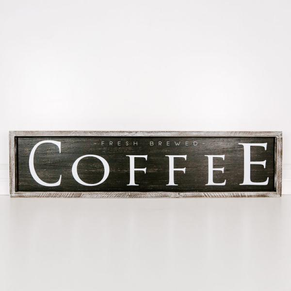 """Coffee"" Sign - Reversible - Bloom'n Things, LLC"