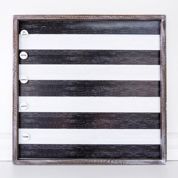 Wood Framed Magnet Board - Bloom'n Things, LLC