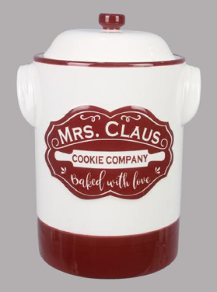 Mrs. Claus Cookie Jar - Bloom'n Things