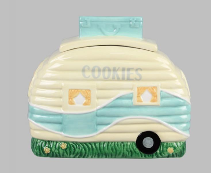 Ceramic Camper Cookie Jar - Bloom'n Things (5966721646776)
