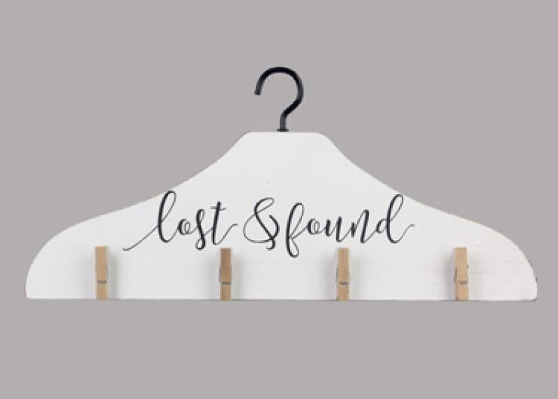 Lost & Found Laundry Hanger - Bloom'n Things, LLC