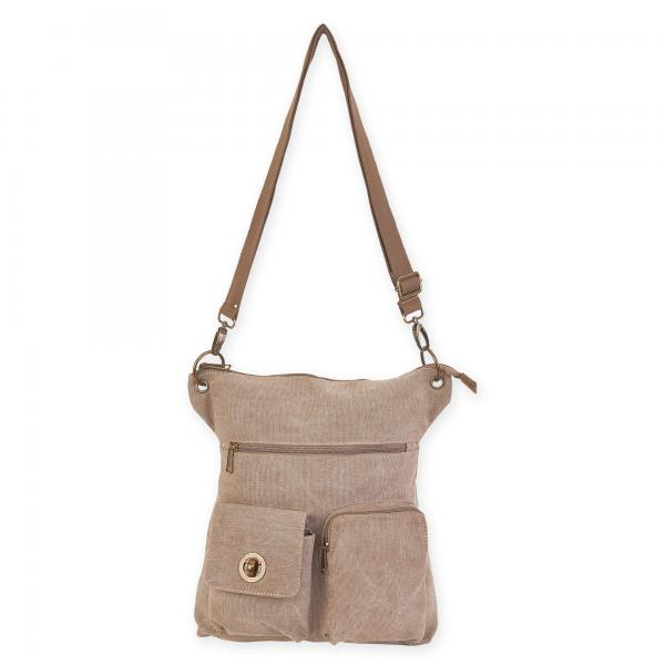 Large Crossbody - Khaki - Bloom'n Things (6079223333048)
