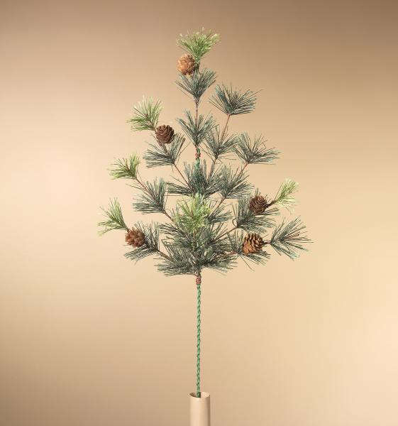 "Pine with Acorn Stem - 24"" Tall - Bloom'n Things, LLC"