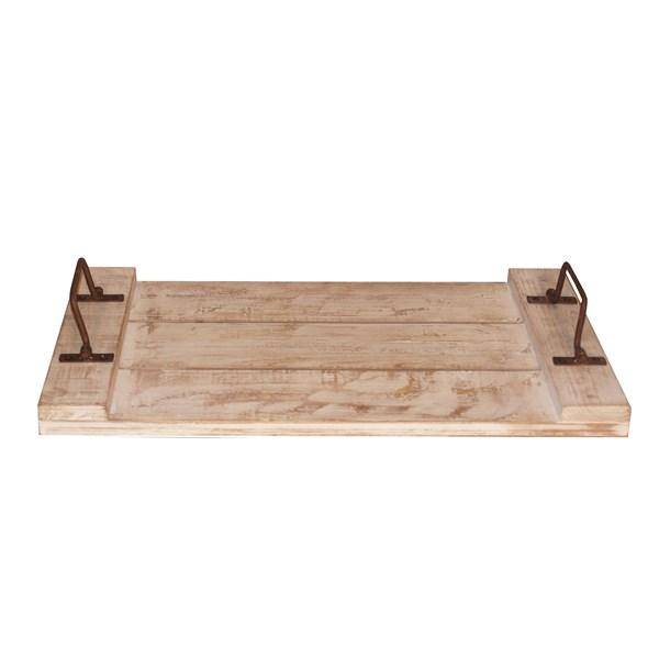 Wood Tray with Handles - Bloom'n Things (1211952389)