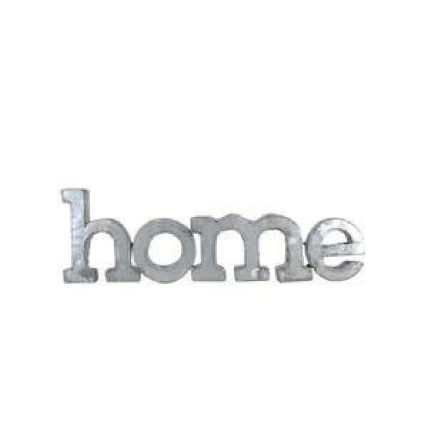 """Home"" Wall Words - Galvanized - Bloom'n Things, LLC"