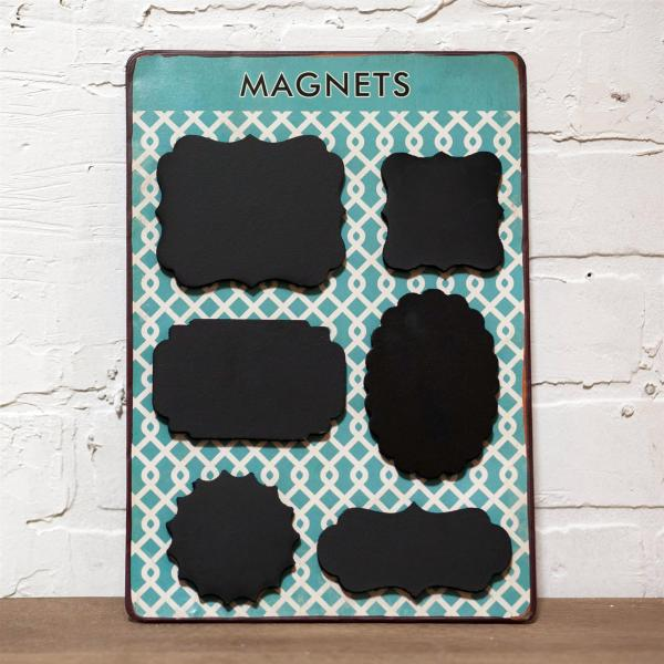 Chalkboard Magnets (6 Per Pack) - Bloom'n Things (3177895821393)