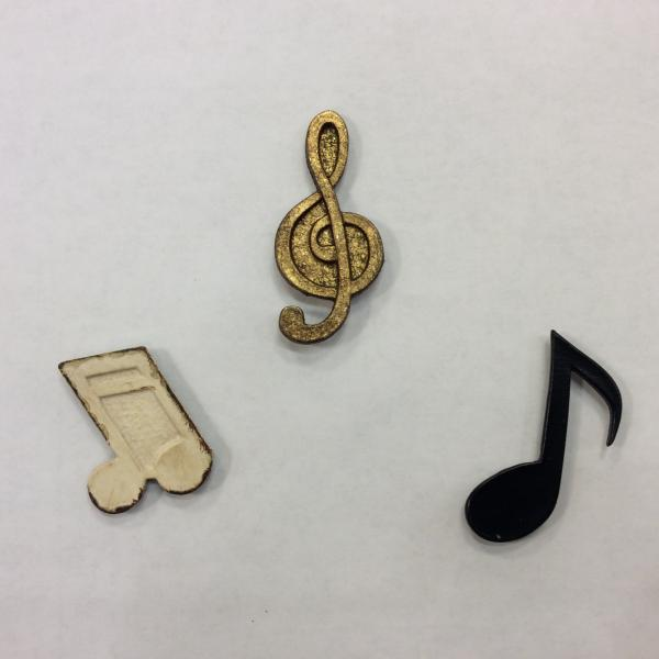 Music Note Magnets (Set of 3) - Bloom'n Things (3189025477)