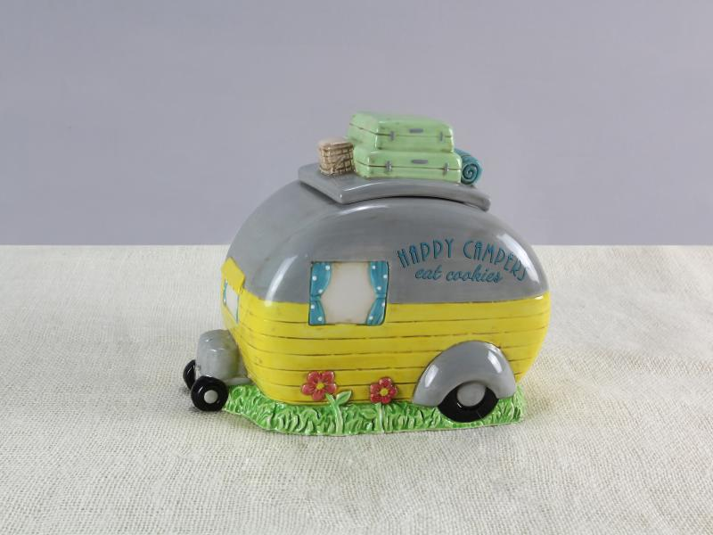 Ceramic Camper Cookie Jar - Bloom'n Things, LLC