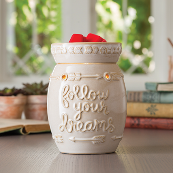 Follow Your Dreams Illumination Fragrance Warmer - Bloom'n Things