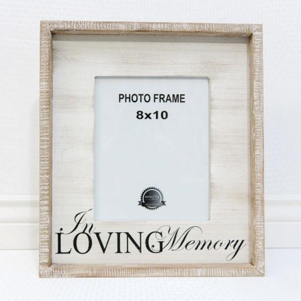 In Loving Memory........ Picture Frame - Bloom'n Things, LLC