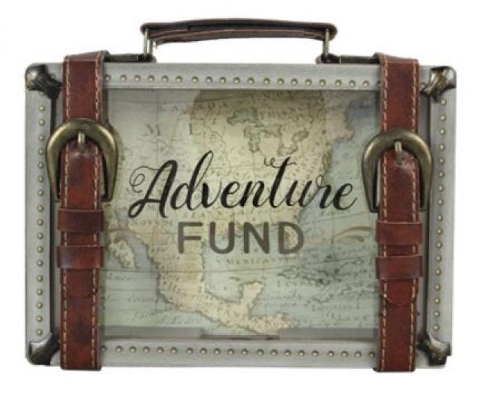 Wood Adventure Travel Bank - Bloom'n Things
