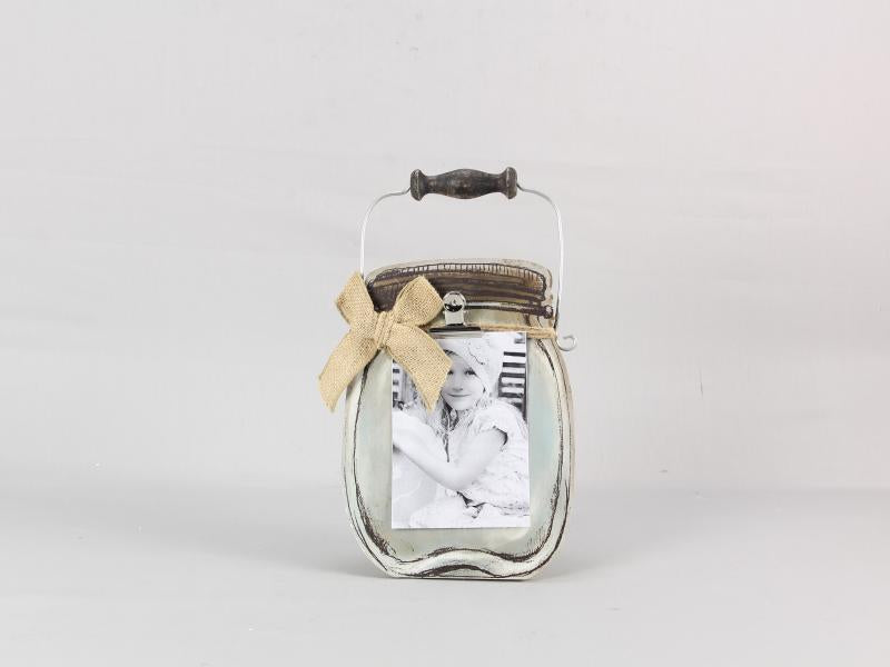 Mason Jar Style Picture Frame with Clip - Bloom'n Things, LLC