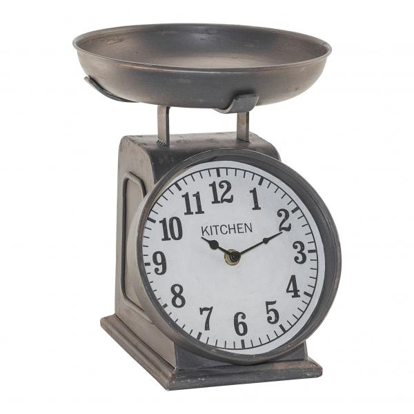 Table Clock - Scale Design - Metal - Bloom'n Things, LLC