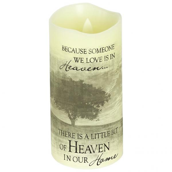 "Everlasting Glow With Premier Flicker ""Heaven"" Candle - Bloom'n Things, LLC"