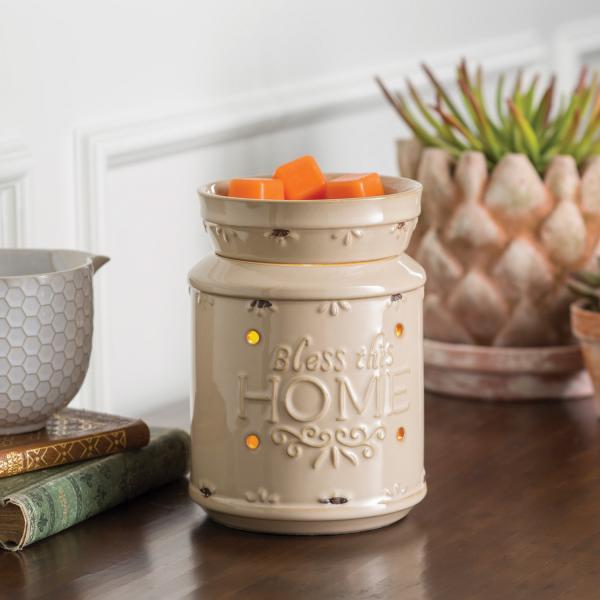 "Illumination Fragrance Warmer ""Bless This Home"" - Bloom'n Things (1361714970705)"
