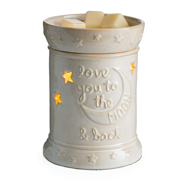 Love You to the Moon Illumination Wax Warmer - Bloom'n Things (1361718673489)