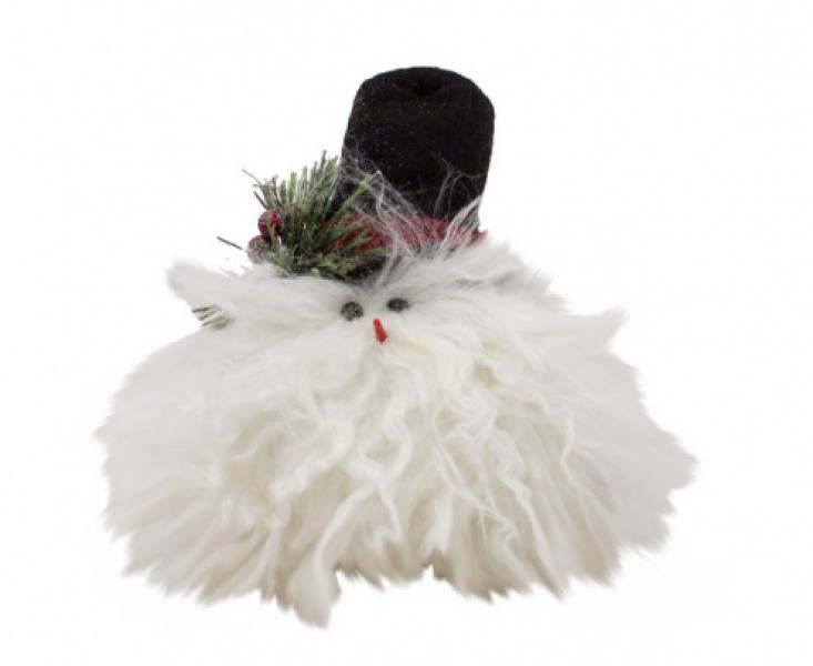 Top Hat Chum Snowman Head - Bloom'n Things, LLC