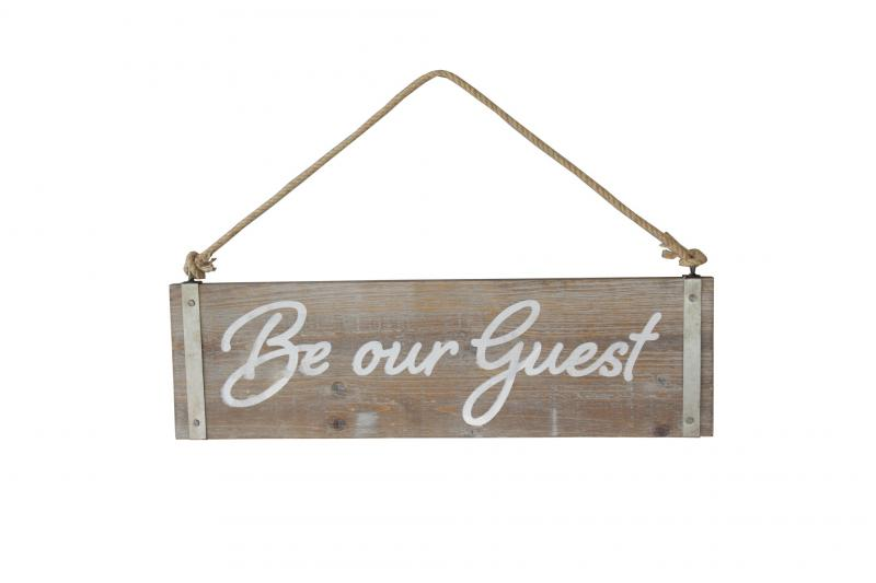 """Be our Guest"" Sign - Bloom'n Things (1362303975505)"