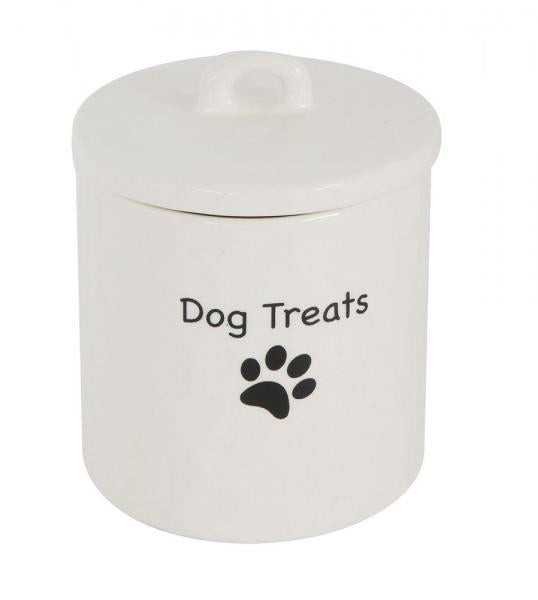 Dog Treats Ceramic Container - Bloom'n Things (1363042762833)