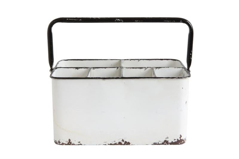 Rustic Enamel Caddy - Bloom'n Things (1363093848145)