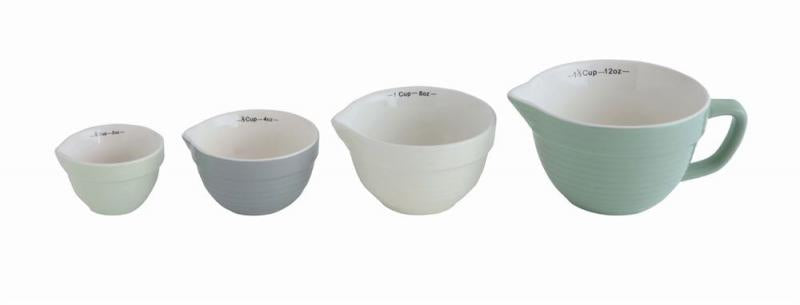 Mint Batter Bowl Measuring Cup Set - Bloom'n Things, LLC