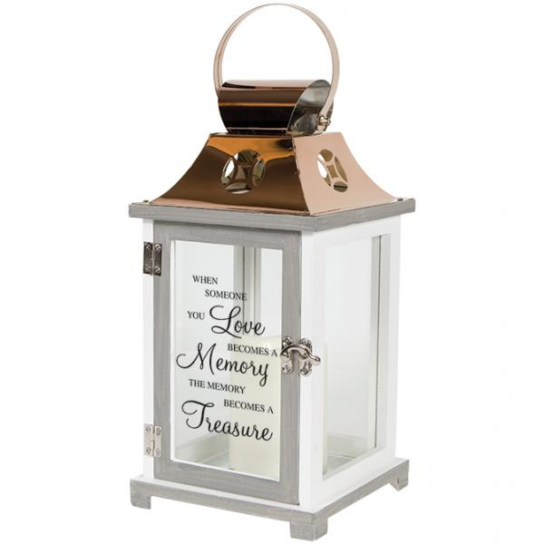 In Memory Battery Operated Lantern - Bloom'n Things (3240582053969)