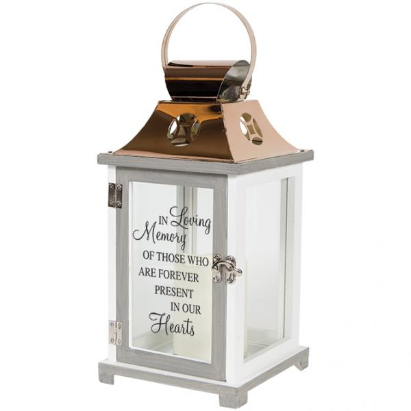 In Loving Memory Lantern - Battery Operated - Bloom'n Things, LLC