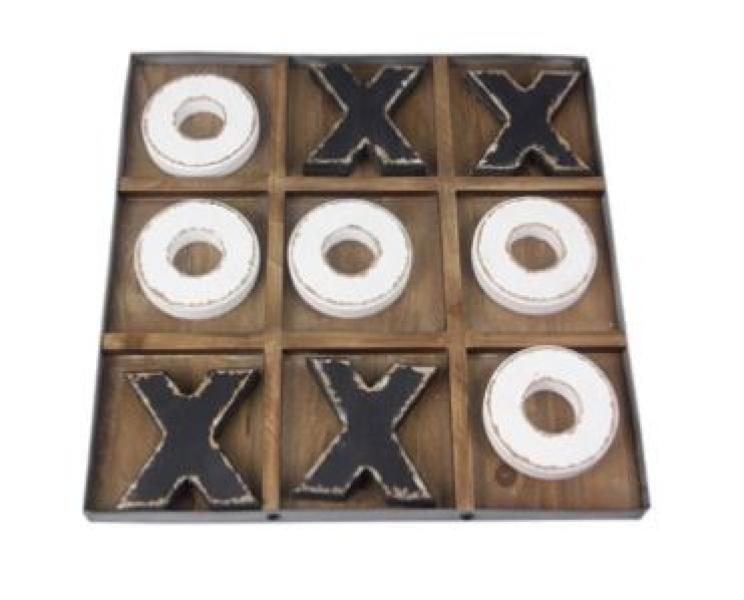 Wood Tic Tac Toe Set - Bloom'n Things, LLC