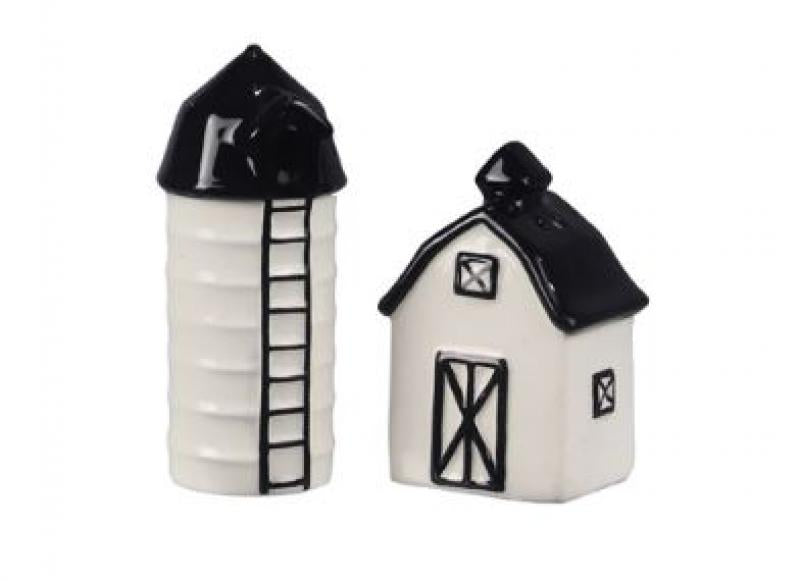 Ceramic Barn Salt & Pepper Shakers - Bloom'n Things (2362242170961)
